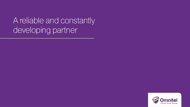A reliable and constantly developing partner