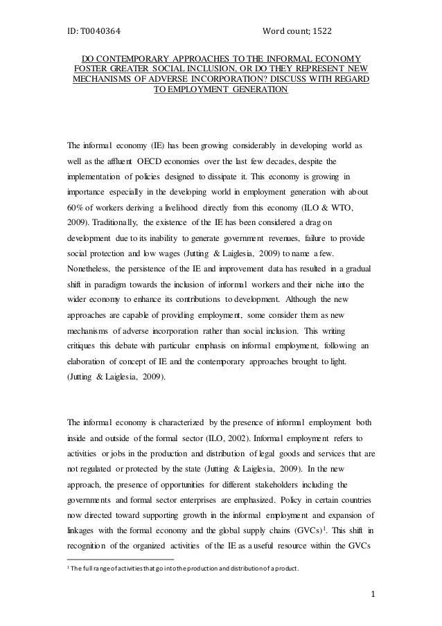 lse-uct essay 1
