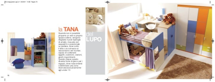 Tana Del Lupo Cameretta.Camerette Per Ragazzi Italian Forniture