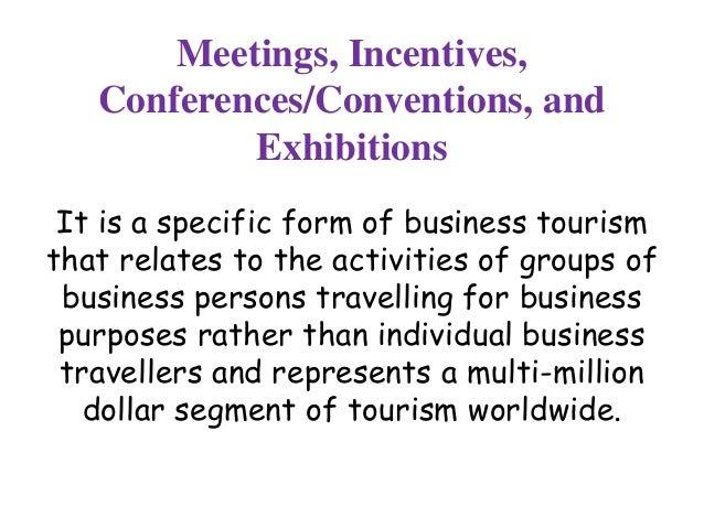 mice tourism Slide 2