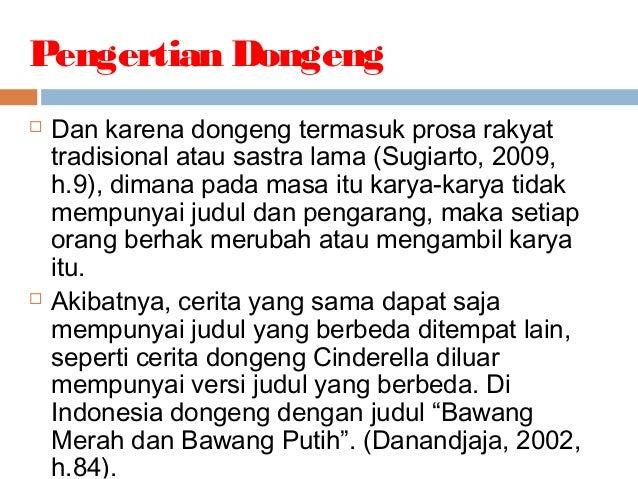 Fabel Dongeng