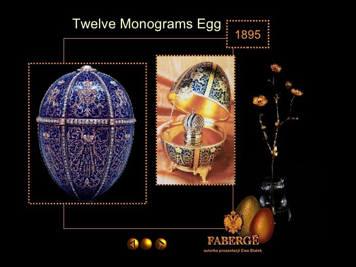 Faberge Imperial Eggs In English