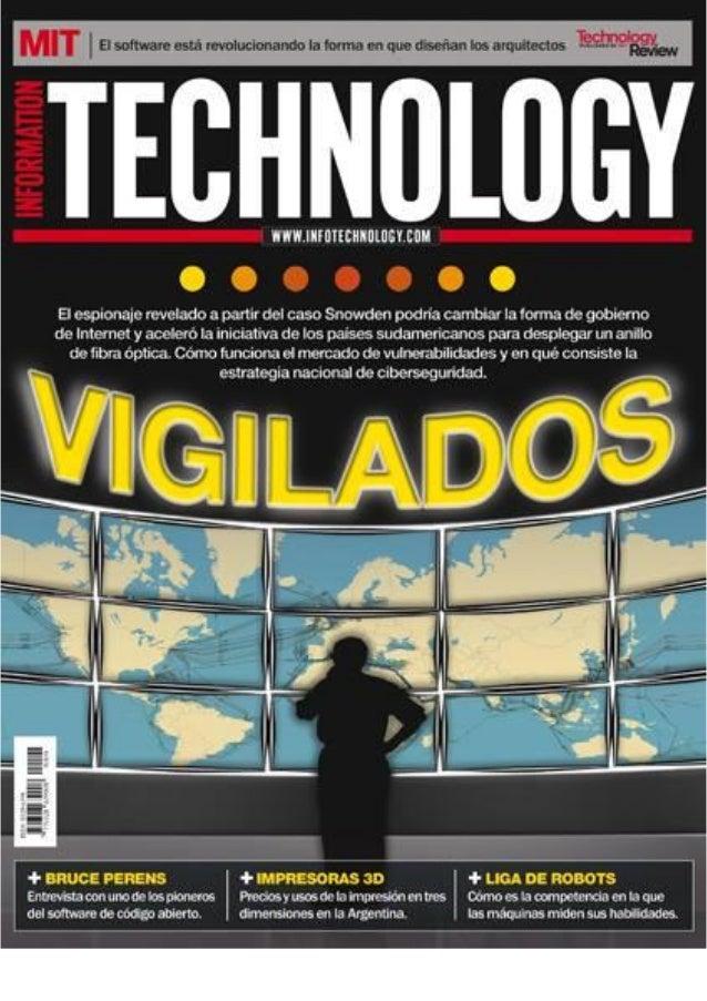 Fabian Cesarini - A Prueba de Riesgos - Revista Information Technology Nov 2013