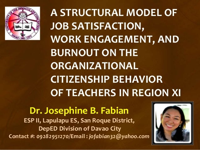 literature review on job satisfaction of teachers Aziri b mrpasero job satisfaction: a literature review management research and practice vol 3 issue 4 (2011) pp: 77-86 job s.