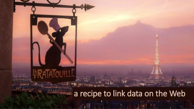 a recipe to link data on the Web