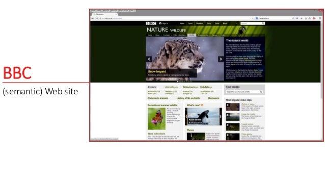 BBC (semantic) Web site