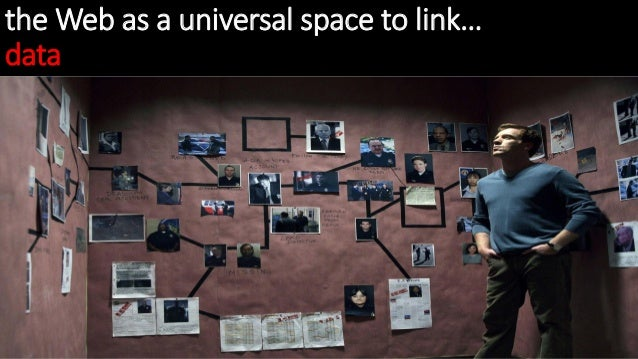 the Web as a universal space to link… data
