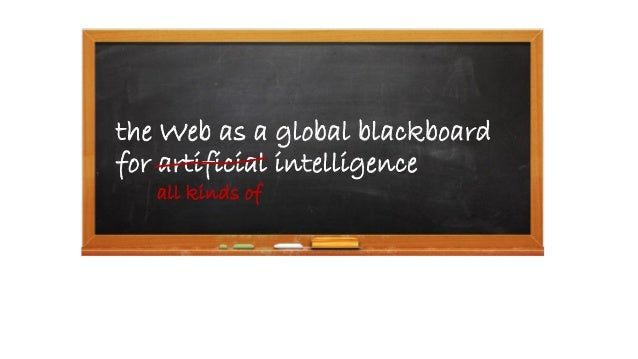 A Web Linking all Kinds of Intelligence - SophI.A Summit