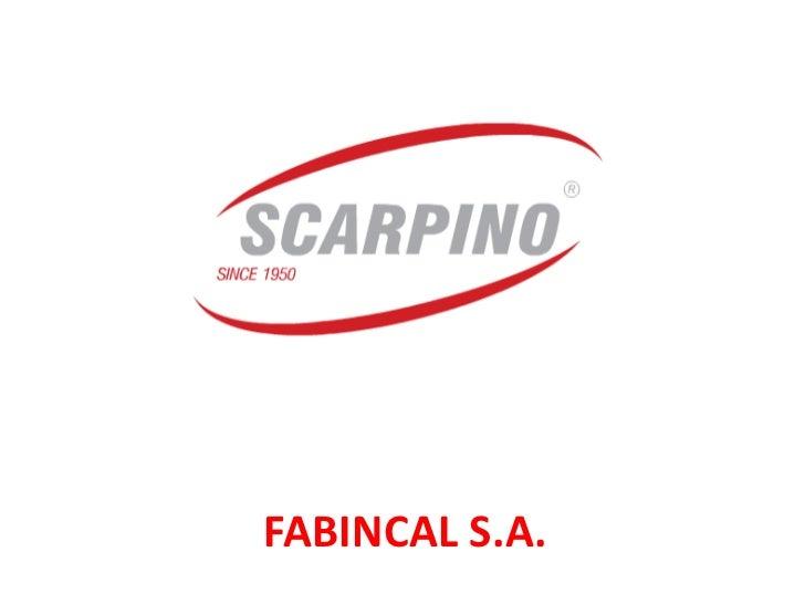 FABINCAL S.A.<br />