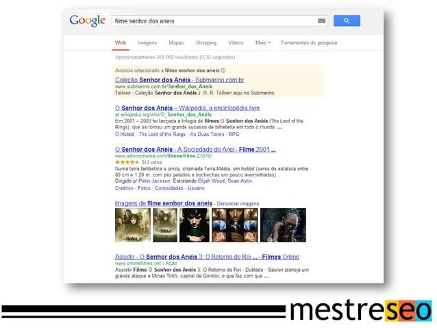 www.example.com/page?query#!mystake                                   O robô de busca (crawler) encontra a URLSeu Servidor...