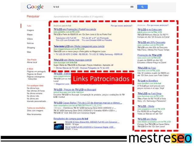 O Google Webmaster Toolsplataforma do Google paraajudar os webmasters