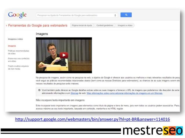 EntãoO Google adotou istocomo fator derankeamento!