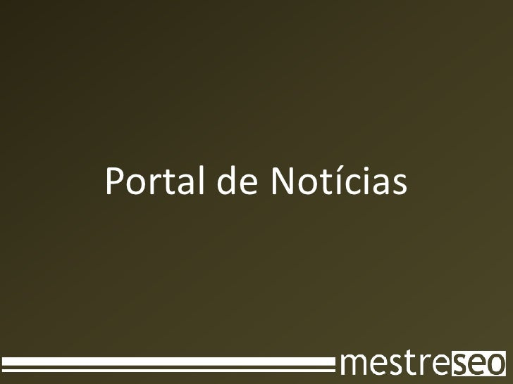 Portal de Notícias<br />