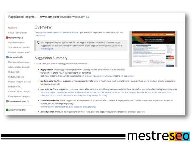 Este padrãoÉ uma forma de informaraos mecanismos de buscaas páginas existentes emum site.