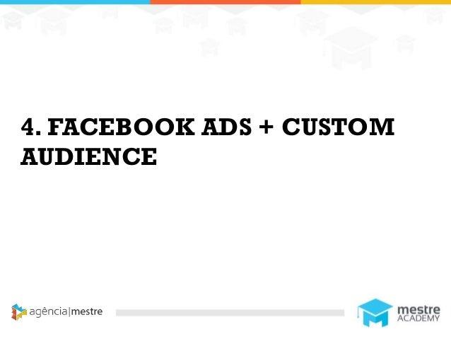 11 4. FACEBOOK ADS + CUSTOM AUDIENCE