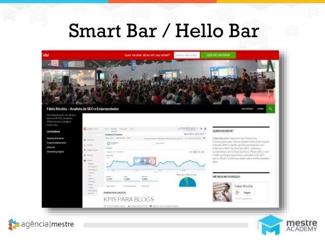 1 Smart Bar / Hello Bar