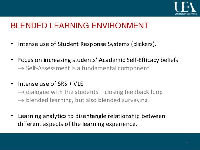 Assessing Student SelfAssessment An Additional Argument For Blended