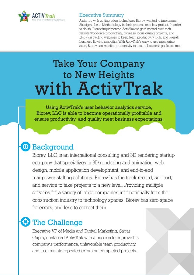 [Case Study] Take Your Company to New Heights with ActivTrak