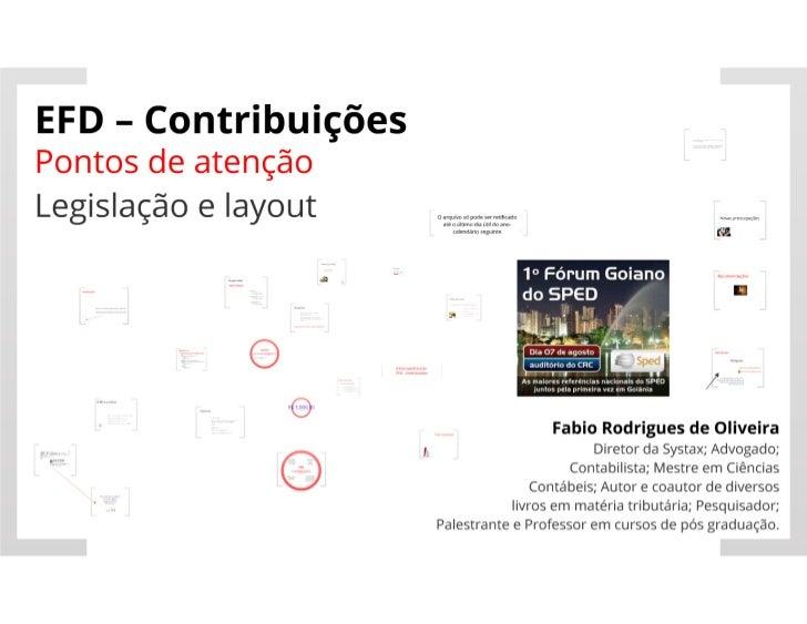 Forum Goiano de SPED - Fábio Rodrigues