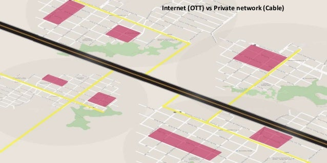 Internet (OTT) vs Private network (Cable)