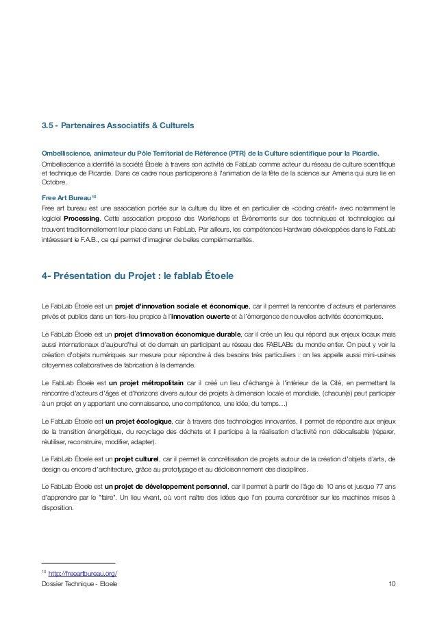3.5 - Partenaires Associatifs & Culturels Ombelliscience, animateur du Pôle Territorial de Référence (PTR) de la Culture s...
