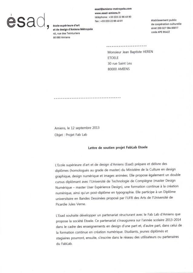 Etoele - Appel à Projet Fablab 2013
