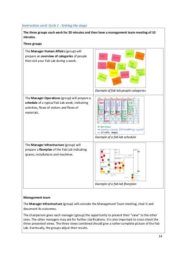 Fab Lab Safety Game; Facilitators Guide; Pieter van der Hijden; 2016