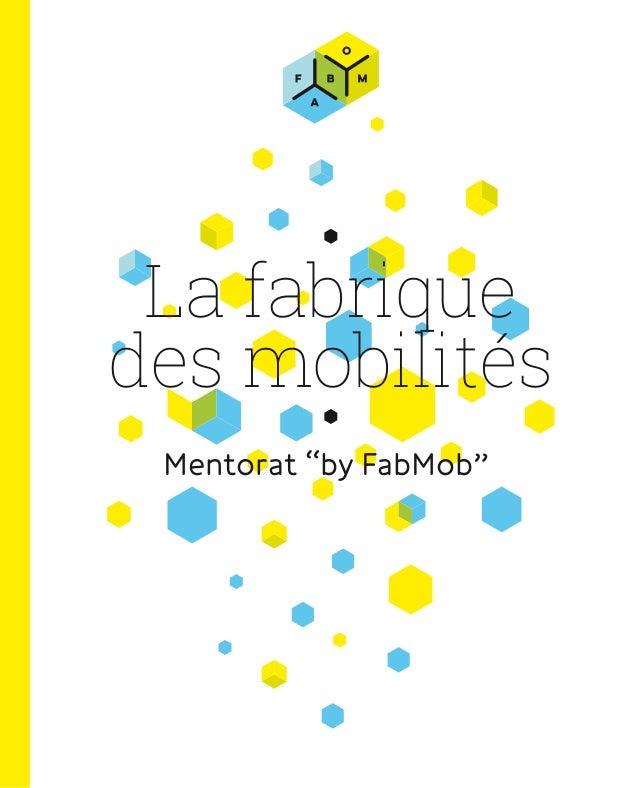 "La fabrique des mobilités Mentorat ""by FabMob"""