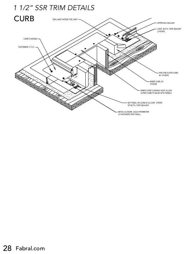 Fabral Ssr Metal Roofing Installation Manual