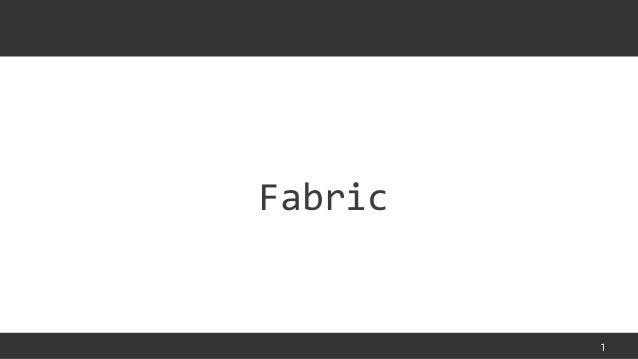 1Fabric