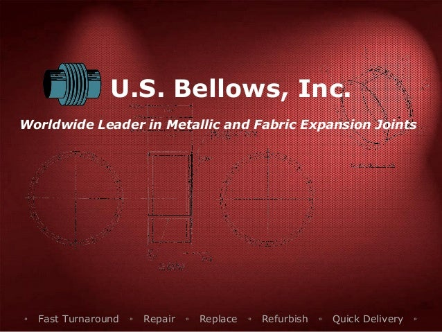 U S  Bellows Fabric Expansion Joints