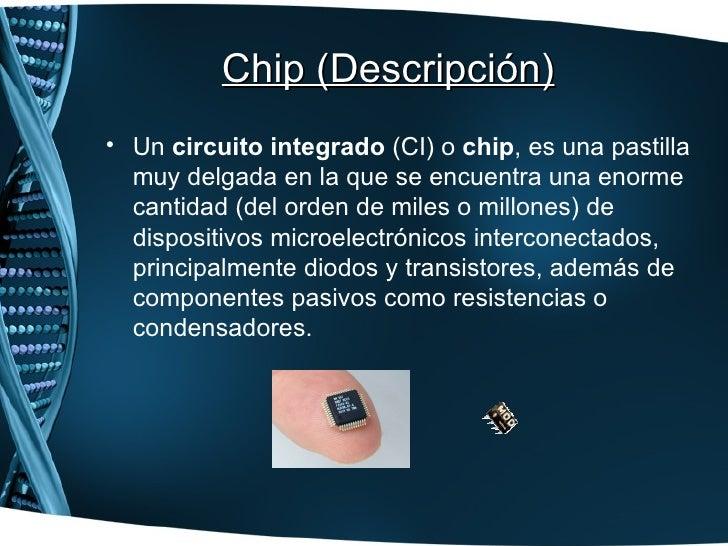 Fabricacion de chips http fisicamoderna spot