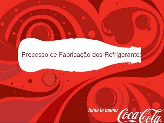 Processo de Fabricação dos Refrigerantes
