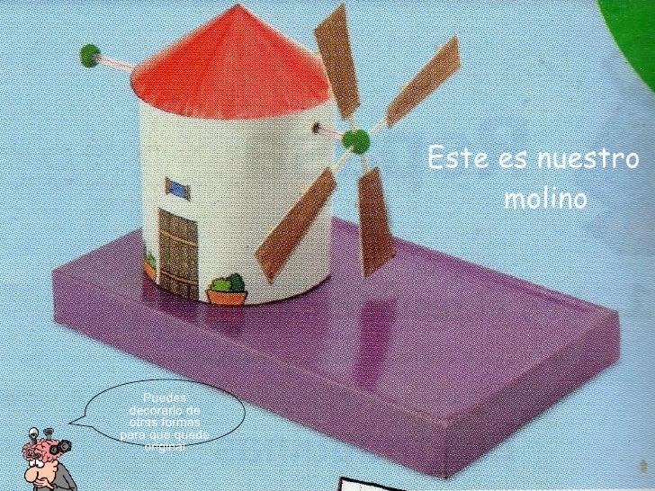 Fabricar molino for Como hacer molinos de viento para el jardin