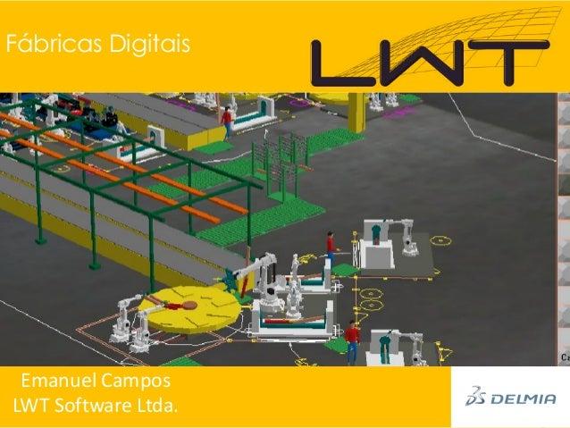 Fábricas Digitais Emanuel CamposLWT Software Ltda.