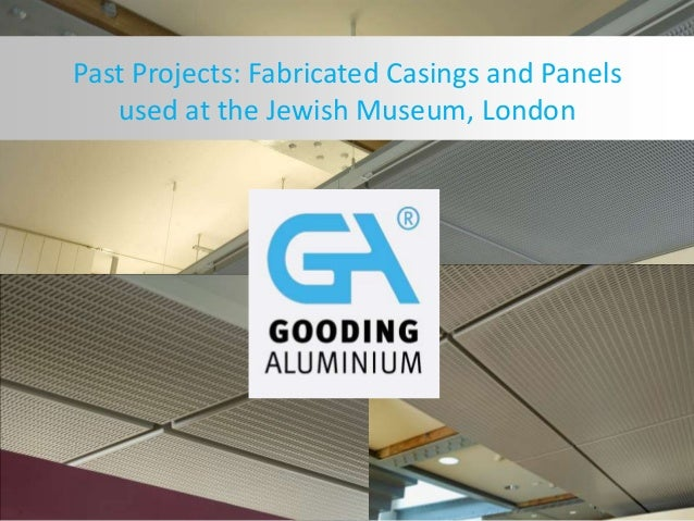 Past Projects: Fabricated Casings and Panels used at the Jewish Museum, London