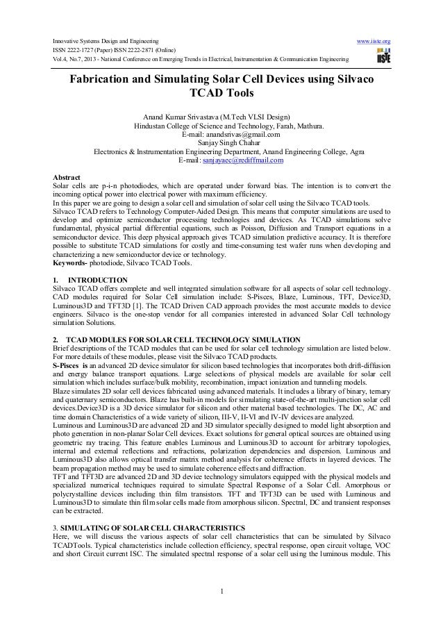 Innovative Systems Design and Engineering www.iiste.orgISSN 2222-1727 (Paper) ISSN 2222-2871 (Online)Vol.4, No.7, 2013 - N...