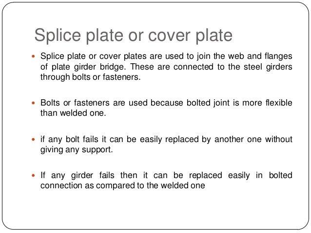 Fabrication of steel plate girder r
