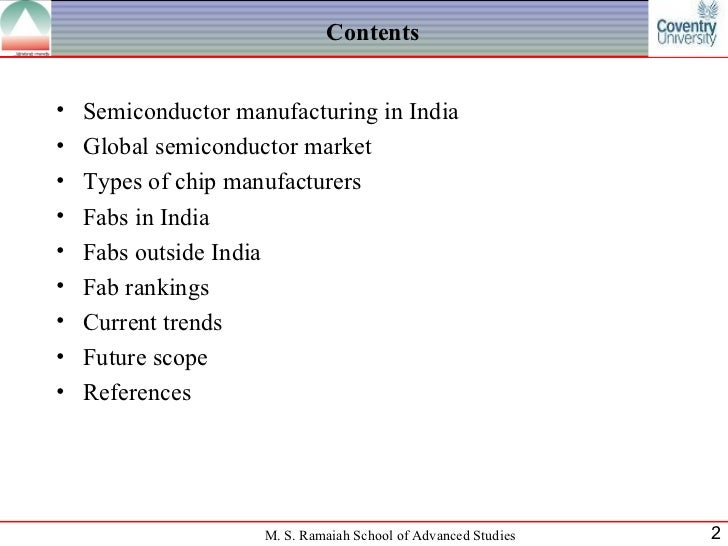 Fabrication units in India and outside