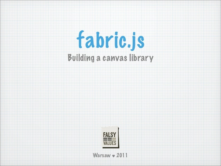 Fabric.js @ Falsy Values