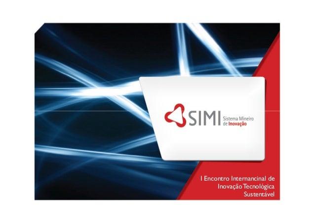I Encontro Internancinal de InovaçãoTecnológica Sustentável