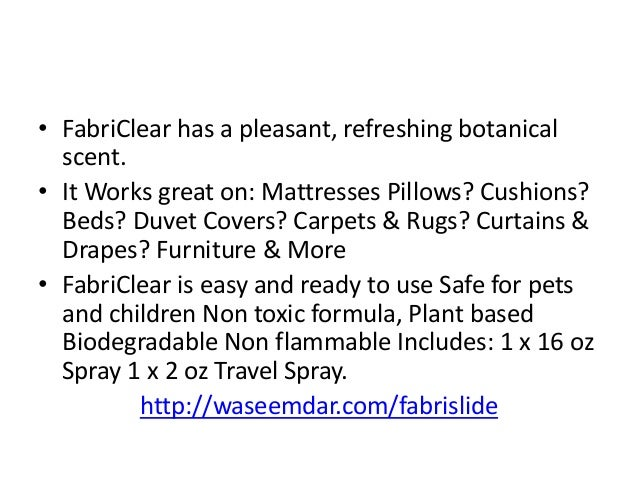 fabriclear review - best bed bug spray