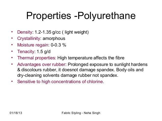 Benefits and Advantages of Polyurethane