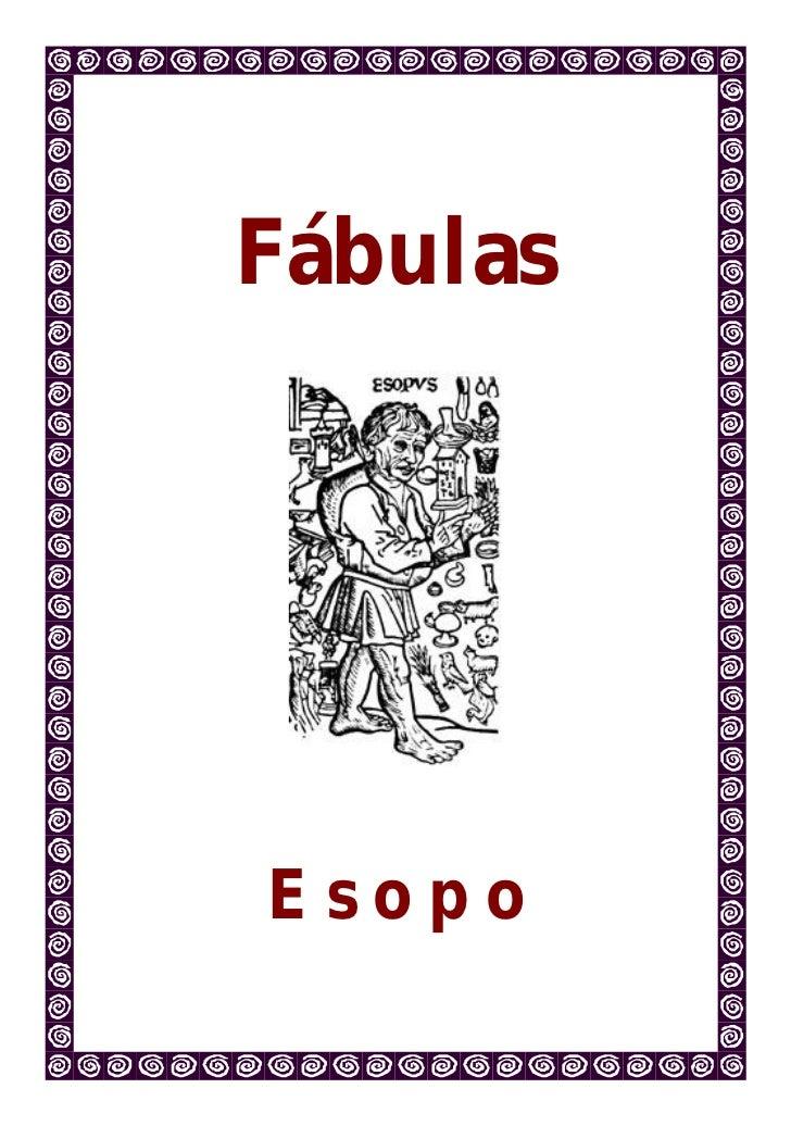 FábulasEsopo