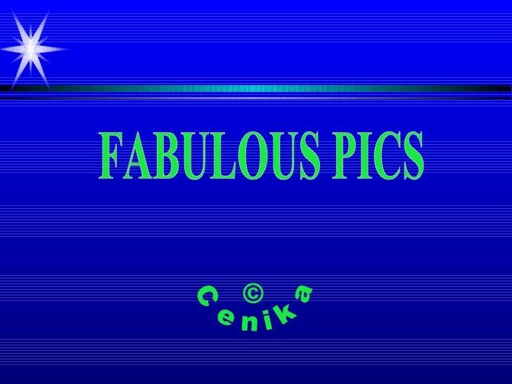 © Cenika FABULOUS PICS