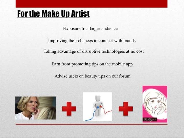 Final makeup presentation.