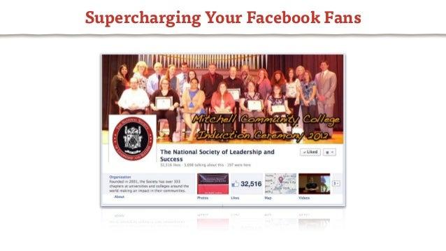 Supercharging Your Facebook Fans