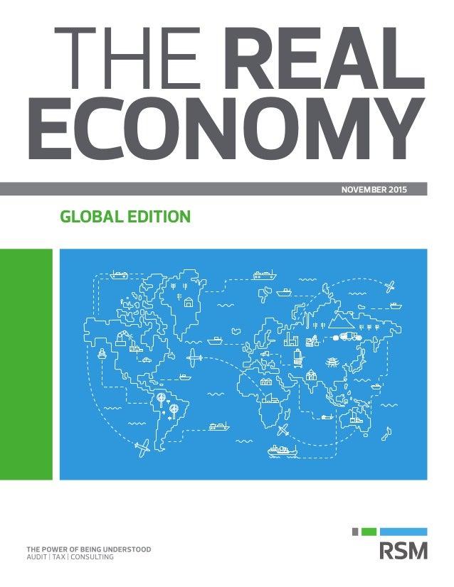 THE REAL ECONOMYNOVEMBER 2015 GLOBAL EDITION