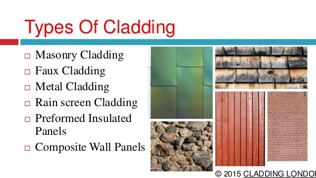 Different Types Of Wall Cladding : Facade cladding