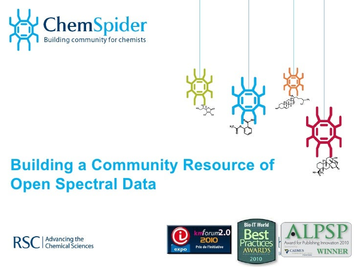 Building a Community Resource of Open Spectral Data